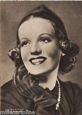 #CINEMA- ATTRICI: LAURA SOLARI - foto Venturini-  ediz. Rizzoli 1941