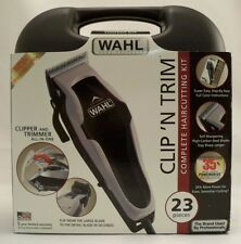 *NEW* WAHL 79900B CLIP 'N TRIM PRO-QUALIITY COMPLETE 23 PIECE HAIRCUTTING KIT
