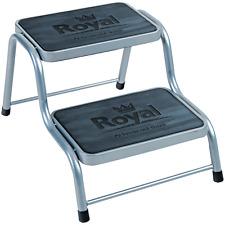 Royal Double Caravan Step Steel Non Slip Tread Van Caravan Motorhome