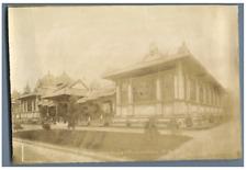 A.C. Champagne, France, Paris, Pavillon de Cochinchine (Vietnam) Vintage albumen