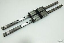 Skf Used Llthc25u640mm Linear Bearing Lm Guide 2rail4block Cnc Router Thk Shs25