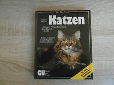 Buch: Katzen, Haltung, Pflege, Ernährung Katzensprache, Krankheiten, Zucht GU