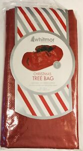 """WHITMOR (29"""" x 56"""") 9-Foot Christmas Standing Tree Bag / New in Package"""