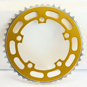 Old School BMX Chainring 5 Bolt Gold 110 BCD