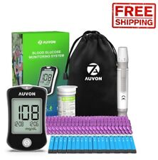 Testing Kit Diabetes Blood Glucose Test Machine Monitor Sugar Device Meter Home
