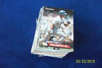 1993 TOYS R US 100 CARDS BASEBALL SET WITH KEN GRIFFEY JR