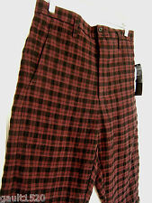 NWT Marc by Marc Jacobs Designer Plaid Golf Style Wool Blend Shorts 28 $198