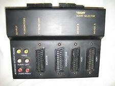 TRISAT T8208 - 3 fach AV- undt Video Scart-Verteiler/Umschalter