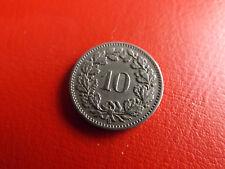 * Schweiz 10 Rappen 1884 B. * (Schub 37)