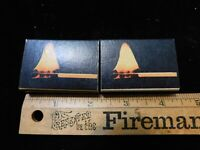 LOT OF 2 VINTAGE BOXES OHIO BLUE TIP MATCHES FLAME ON BOX NEVER USED