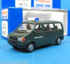 Roco H0 4012 VW T4 Bus BAHNPOLIZEI HO 1:87 OVP Volkswagen Bulli