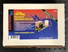 Super Rare Ramsey Electronics Pg13 Plasma Generator Kit High Voltage Tesla Marx