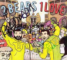 THE 2 BEARS 1 Love 2012 signed/autographed CD Joe Goddard Hot Chip
