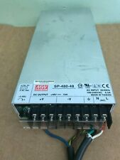 Mean Well  AC/DC CONVERTER 48V 480W Power Supply, SP-480-48