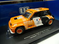 UNIVERSAL HOBBIES 1:18 AUTO DIE CAST RENAULT 5 TURBO COUPE EUROPE R5 TURBO 4550