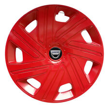 15'' Wheel trims for DACIA DOKKER 4x15'' red