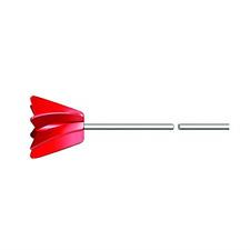 Agitador de mezcla de pintura para taladro el�ctrico Varilla mezcladora 1 gal�n