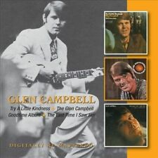 Try a Little Kindness/The Glen Campbell Goodtime Album/Last Time I Saw Her by Glen Campbell (CD, Oct-2012, 2 Discs, Beat Goes On)