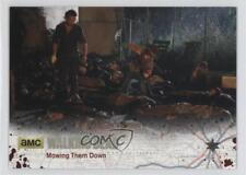 2016 Cryptozoic The Walking Dead Season 4 Part 1 #12 Mowing Them Down /99 3j2