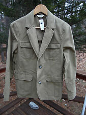 NWT L.L. Bean Men 36 Short Wrinkle Free Tropic Weight Explorer Brown Blazer $99