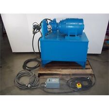 Hydraulic Power Unit Racine PSV PSC0 25ERM 60 Pump + GE General Electric 10 HP