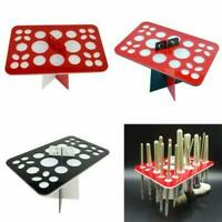 26 Holes Acrylic Makeup Brush Display Holder Cosmetic Storage Stand