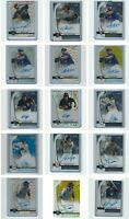 2020 Bowman Sterling Baseball Rookie Prospect Auto's (Pick your player auto)