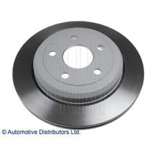Brake Disc (2 Piece) Rear Axle - Blue Print ADA104366