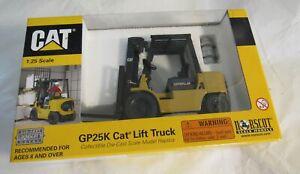 Norscot CAT GP25K Lift Truck 1:25 Scale Model Die Cast Collectible 55071 MIB