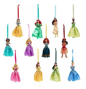 NEW Shop Disney Store 2020 Charm Princess Christmas Decoration Ornaments