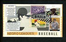 Ranto Cachet US FDC #4466 on 1381 w 855 Foster Gibson baseball Negro League 2010