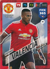 Panini Adrenalyn XL FIFA 365 2018 #74 Antonio Valencia Manchester United