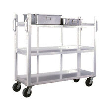 New Age 95667 Carrier Cart W/ 3 Solid Open Shelves & 1800 lb Capacity