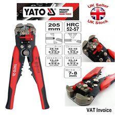Yato professionale automatico Elettrico Cavo Filo Stripper Cutter crimperyt - 2270