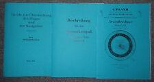 Dienstvorschrift Höhenschreiber 1939 & Sonnenkompaß & Plath Dreiecksrechner DR2
