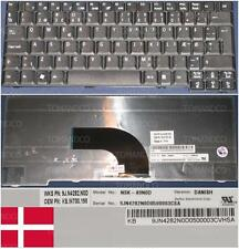 QWERTY KEYBOARD DANISH ACER TM6291 NSK-A9N0D AEZU2M00010 KB.INT00.198 Black