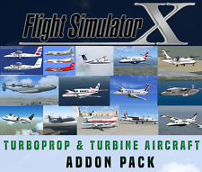 Flight Simulator X FSX AddOn Bundle-Turboprop & Turbine Aircraft - 15+ NEU!