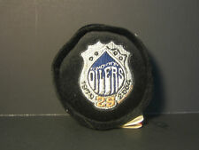 NHL Edmonton Oilers 25th Anniversary Plush NHL Puck