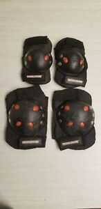 Mongoose Knee and Elbow Pads Youth Kids Sport Bike Skate Scooter Protective Gear