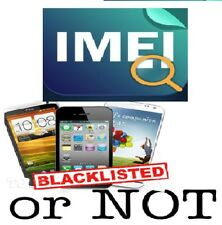 iPhone Clean / Blacklisted / Blocked / Barred Status Information Check