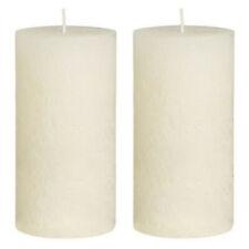 6-er Pack Stumpenkerzen Kerzen Kerze Stumpenkerze 11cm  Farbe Gelb