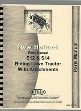 New Holland S12 S14 Lawn & Garden Tractor Parts Manual Catalog