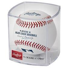 Offical Mlb Baseball and Display Cube Romlb-R