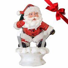 Weihnachtsmann Sporty Dekofigur Weihnachtsdekoration Nikolausfiguren Dekoration