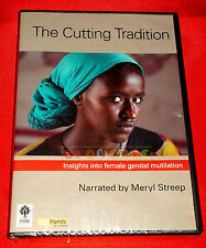THE CUTTING TRADITION Narrated by Meryl Streep - Vers INGLESE - Dvd - NUOVO - C2
