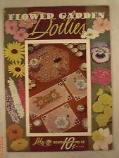 Flower Garden Doilies - Book 52 - Lily Mills Company - 13 Crochet Patterns
