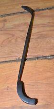 Angle & Dobson Canastota NY 1800's foundry tool collectible sand mold scraper