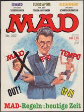 MAD Heft Nr. 267 + Filmparodien (Williams Verlag, 1. Auflage 1991) Z 1-