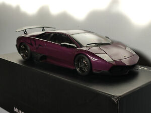 AUTOart 1/18 Lamborghini Murcielago LP670-4 SV violet / Purple