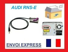 RNS-E AUDI NAVIGATION PLUS A3 A4 A6 AUDIO AUX IN ADAPTER ADAPTOR AUX-IN IPHONE